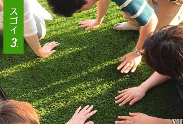 すごい人工芝がスゴイ理由3