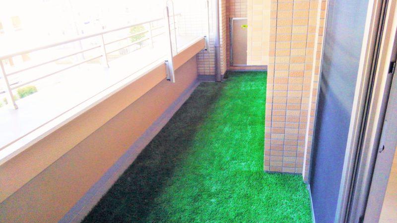 東京都 L様邸のベランダ施工後の写真2