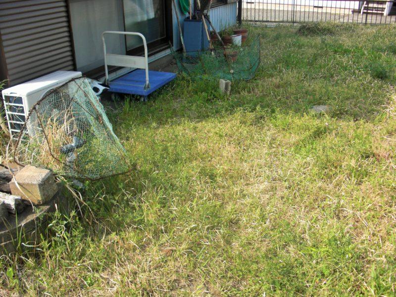 神奈川県 Y様邸の庭施工前の写真1