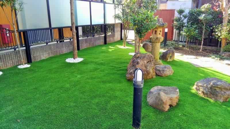 埼玉県 E様邸の庭施工後の写真7