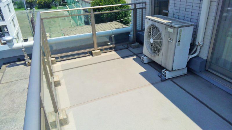 東京都 H様邸のベランダ施工前の写真1