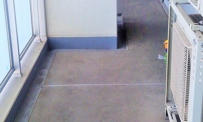 神奈川県 S様邸のベランダ施工前の写真1