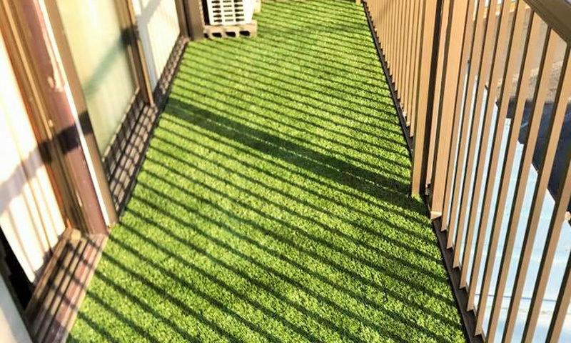 神奈川県 Y様邸のベランダ施工後の写真2