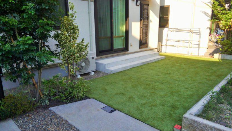 東京都 T様邸の庭施工後の写真6