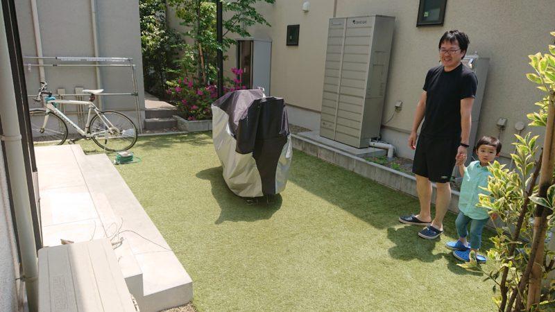 東京都 T様邸の庭施工から2年後の写真9