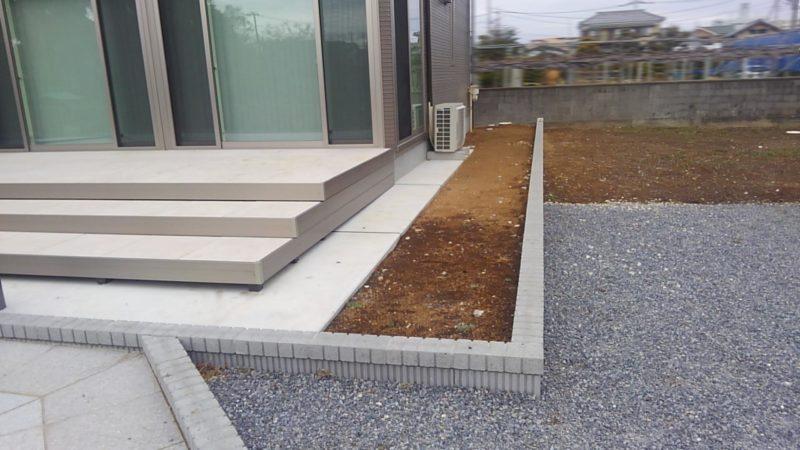 埼玉県 O様邸の庭施工前の写真1