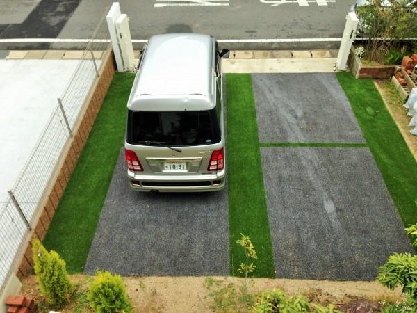 駐車場にも人工芝のアイキャッチ画像