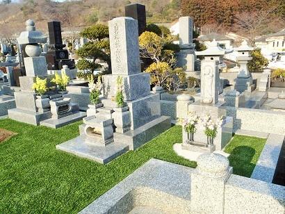 お墓にも人工芝のアイキャッチ画像