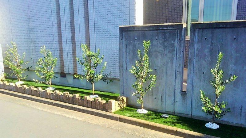 東京都 Y様邸の花壇施工後の写真1