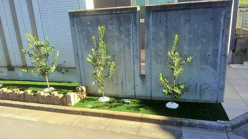 東京都 Y様邸の花壇施工後の写真2