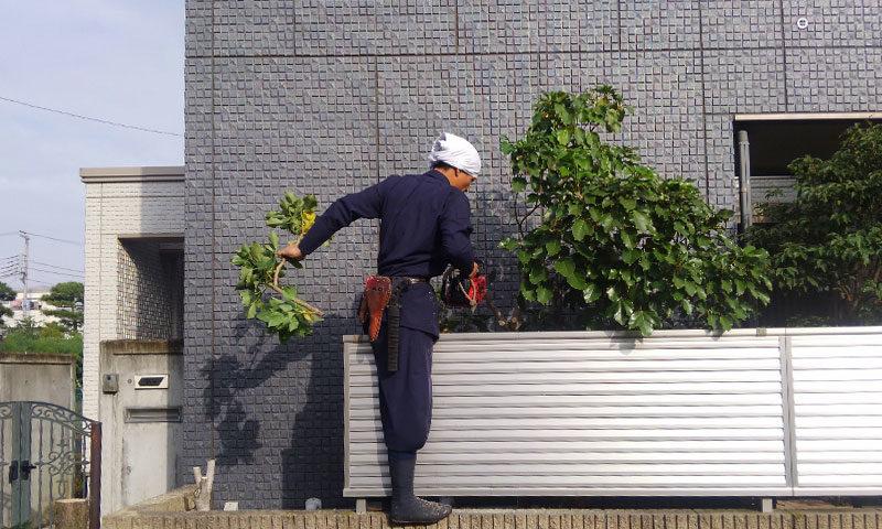 東京都 Y様邸の庭施工中の写真3