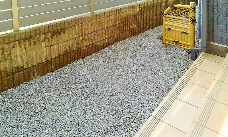 東京都 Y様邸の庭施工後の写真3