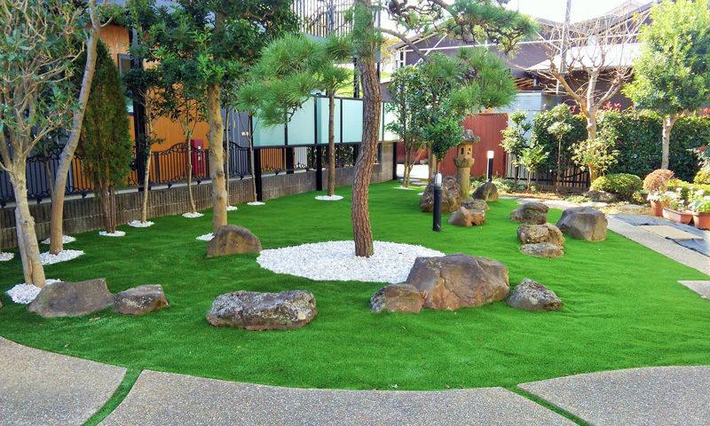 埼玉県 E様邸の庭のアイキャッチ画像
