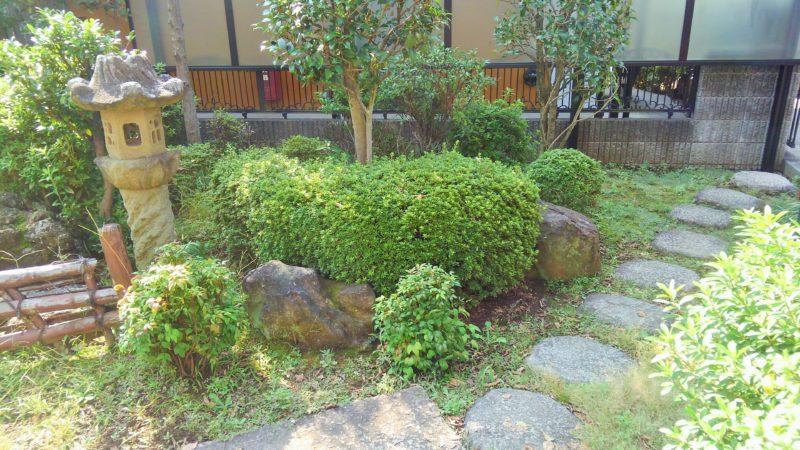 埼玉県 E様邸の庭施工前の写真1