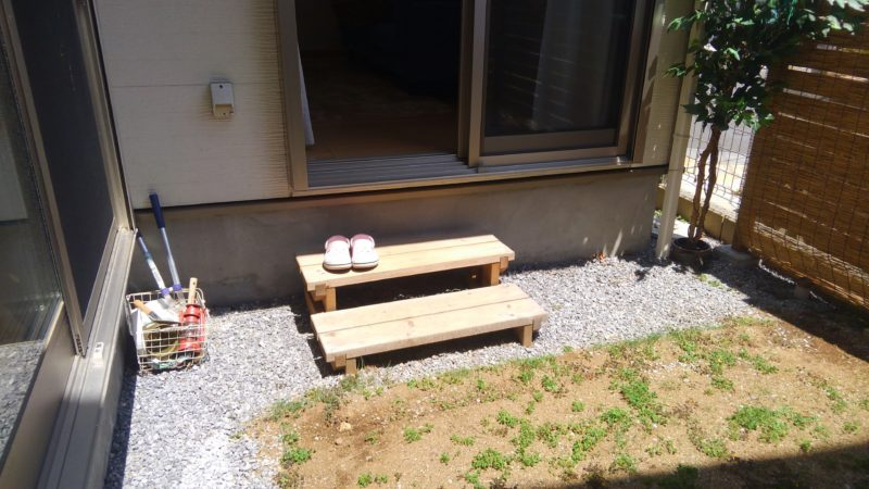 千葉県 Y様邸の庭施工前の写真1