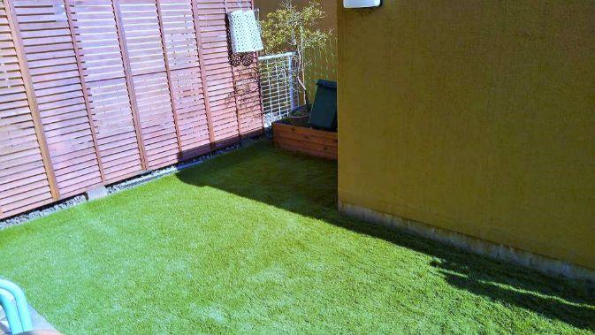 コンクリートのお庭でも施工後の写真2