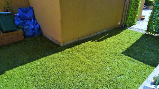 コンクリートのお庭でも施工後の写真3