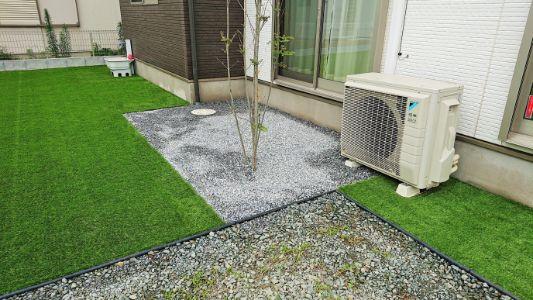 群馬県 A様邸の庭施工後の写真6