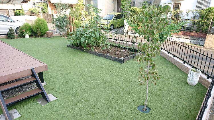 東京都S様邸の庭施工後の写真2