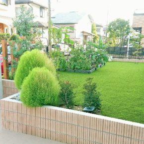 施工事例をアップしました(東京都S様邸の庭)のアイキャッチ画像